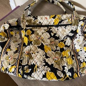 Vera Bradley Dogwood Small Duffel Bag Like Brand New Condition